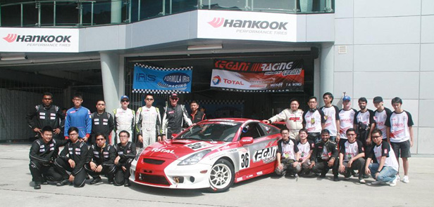 Kegani Racing in preparation for Sepang 1000km 2012