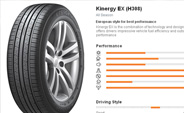 HANKOOK KinergyEX offers 100% Warranty Claims